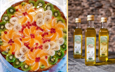 Crostata alla frutta con olio al Limone di Mariastella