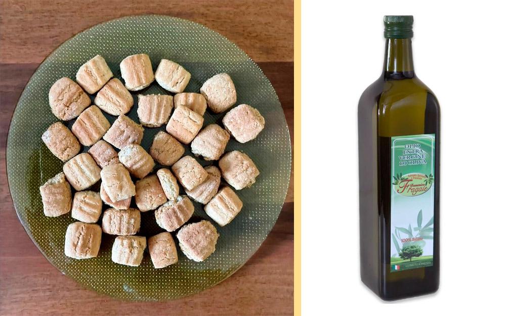 Biscotti secchi all'olio extra vergine di oliva
