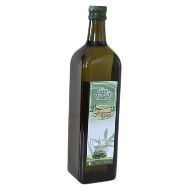 bottiglia 1 lt olio extra vergine di oliva monocultivar