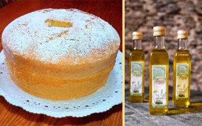La Chiffon Cake con Olio al Limone di Irene