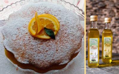 Torta soffice all'arancia con olio al Limone di Maria